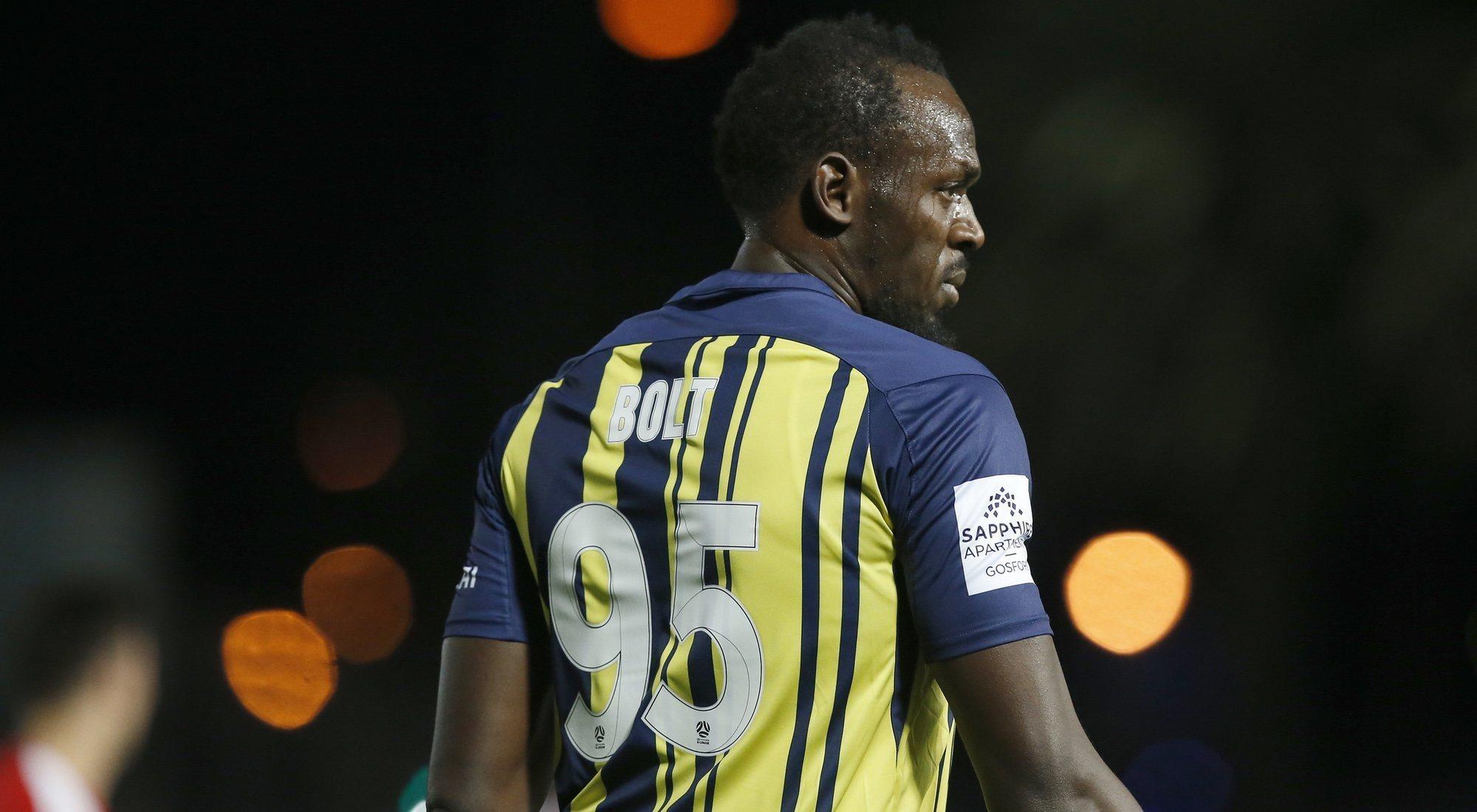 El Usain Bolt futbolista