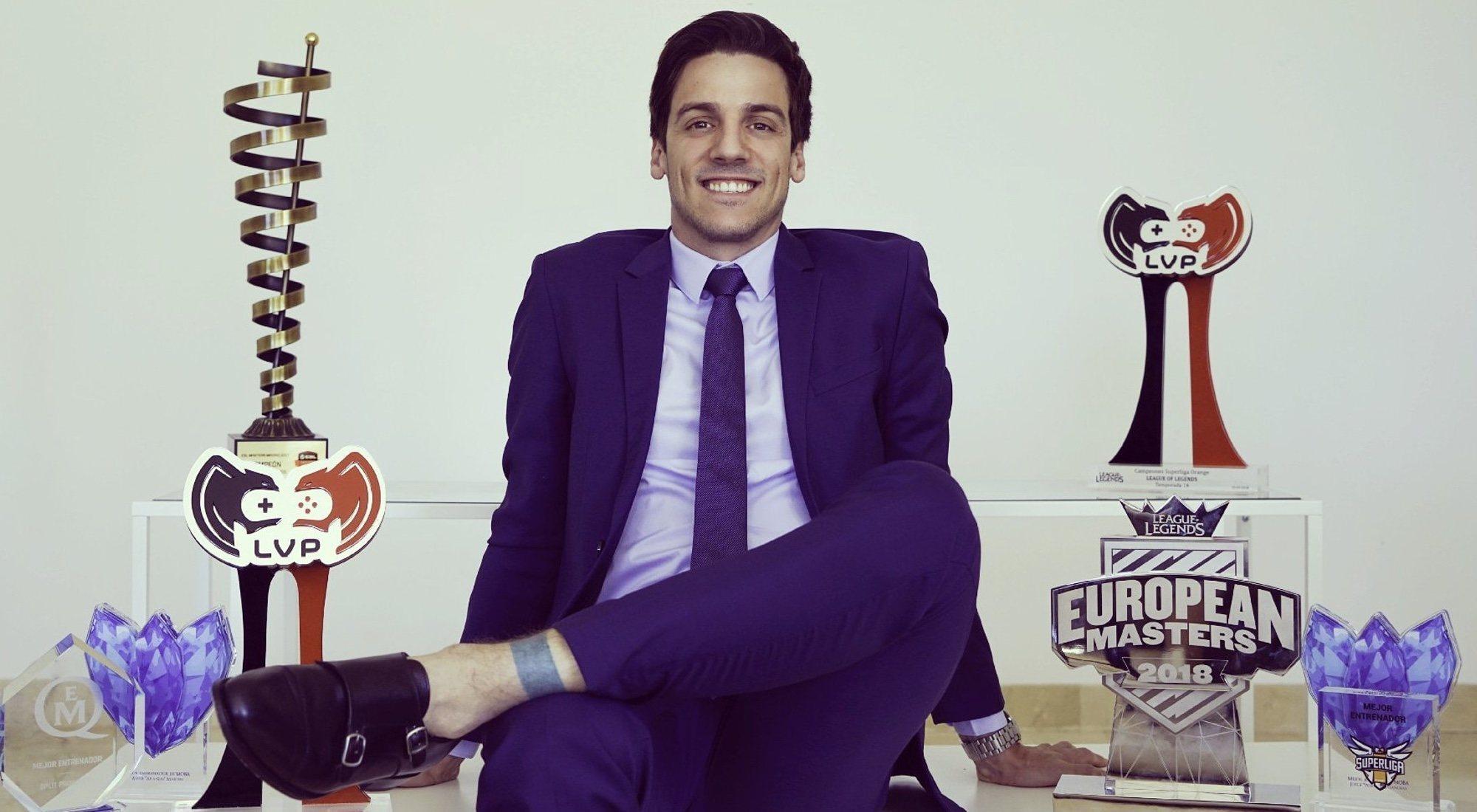 """Álvar Martín (Araneae), Managing Director de MAD Lions: """"Los eSports no tienen techo"""""""