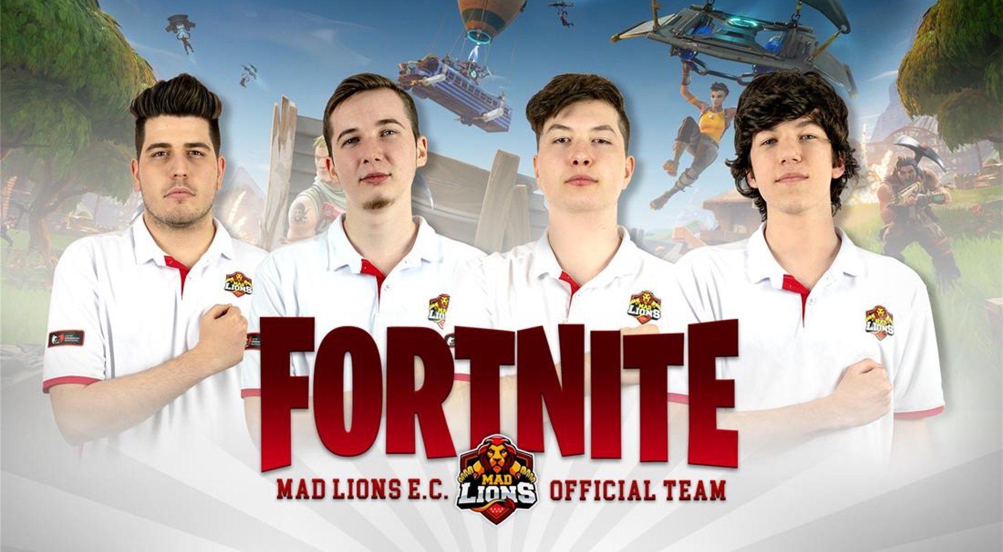 Entrevista al equipo de 'Fortnite' de MAD Lions E.C.