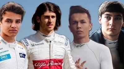 De George Russell a Lando Norris, una nueva hornada de pilotos llega a la Fórmula 1