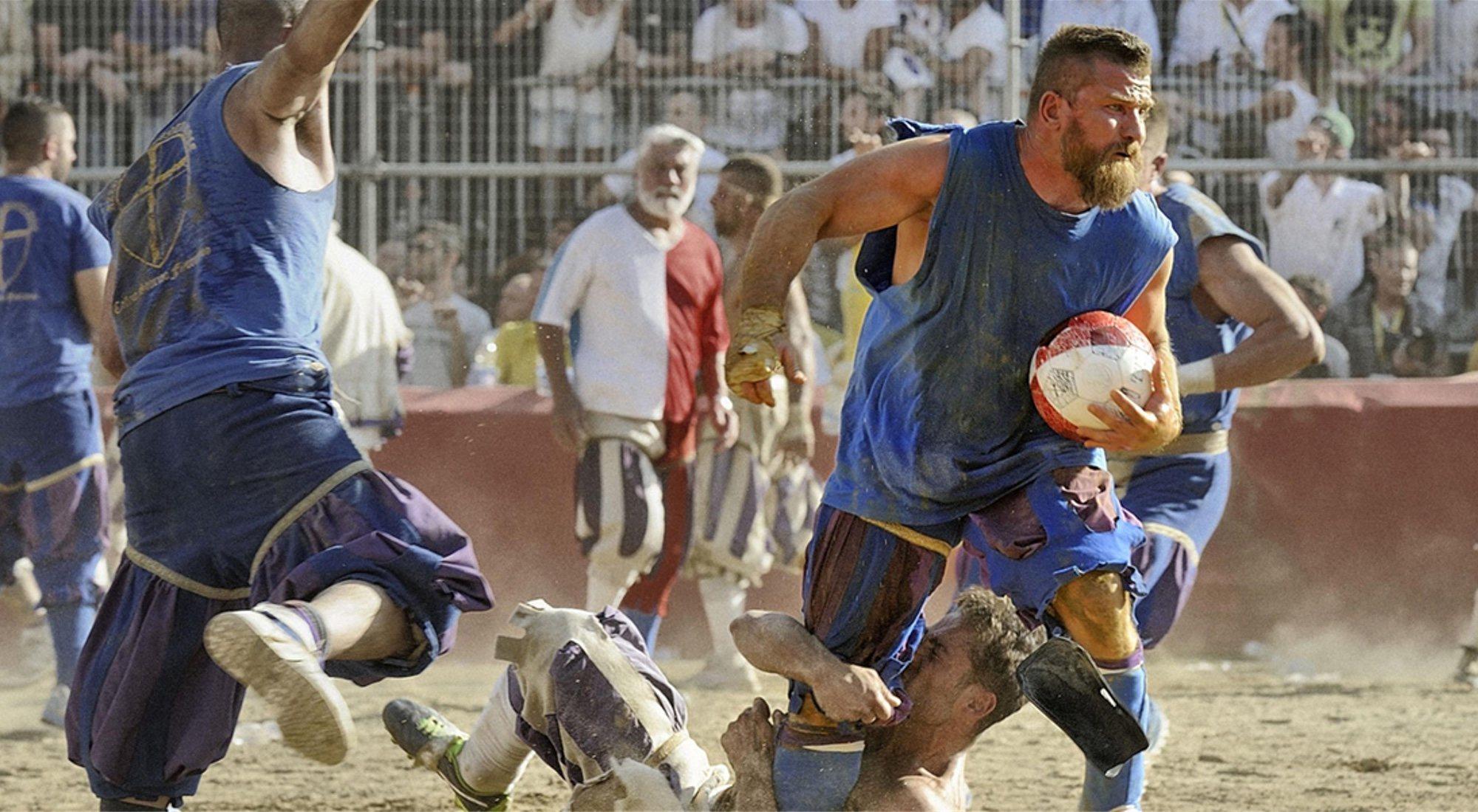 Calcio Storico Fiorentino: el violento deporte de Florencia... ¿precursor del fútbol?