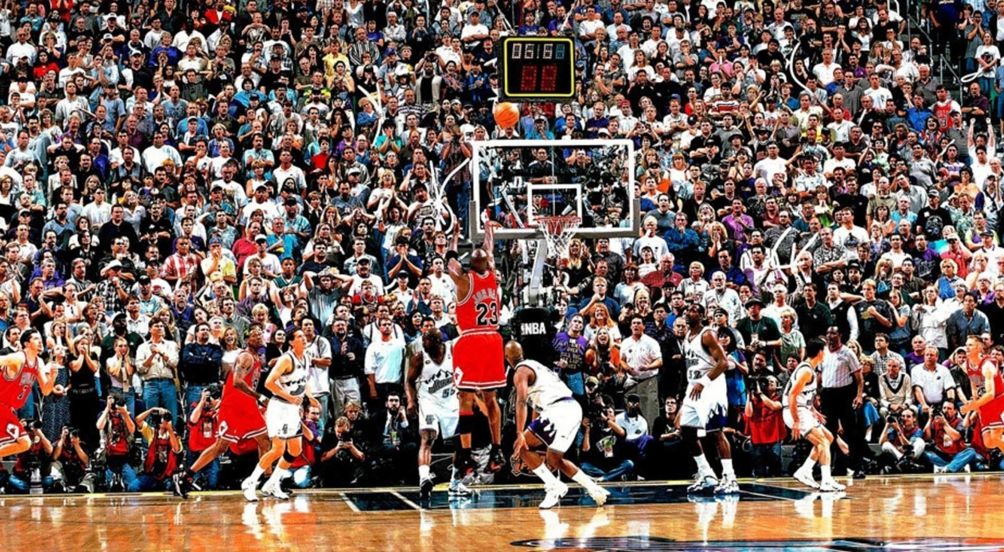 'The Shot' cumple 30 años: el tiro que consagró a Michael Jordan