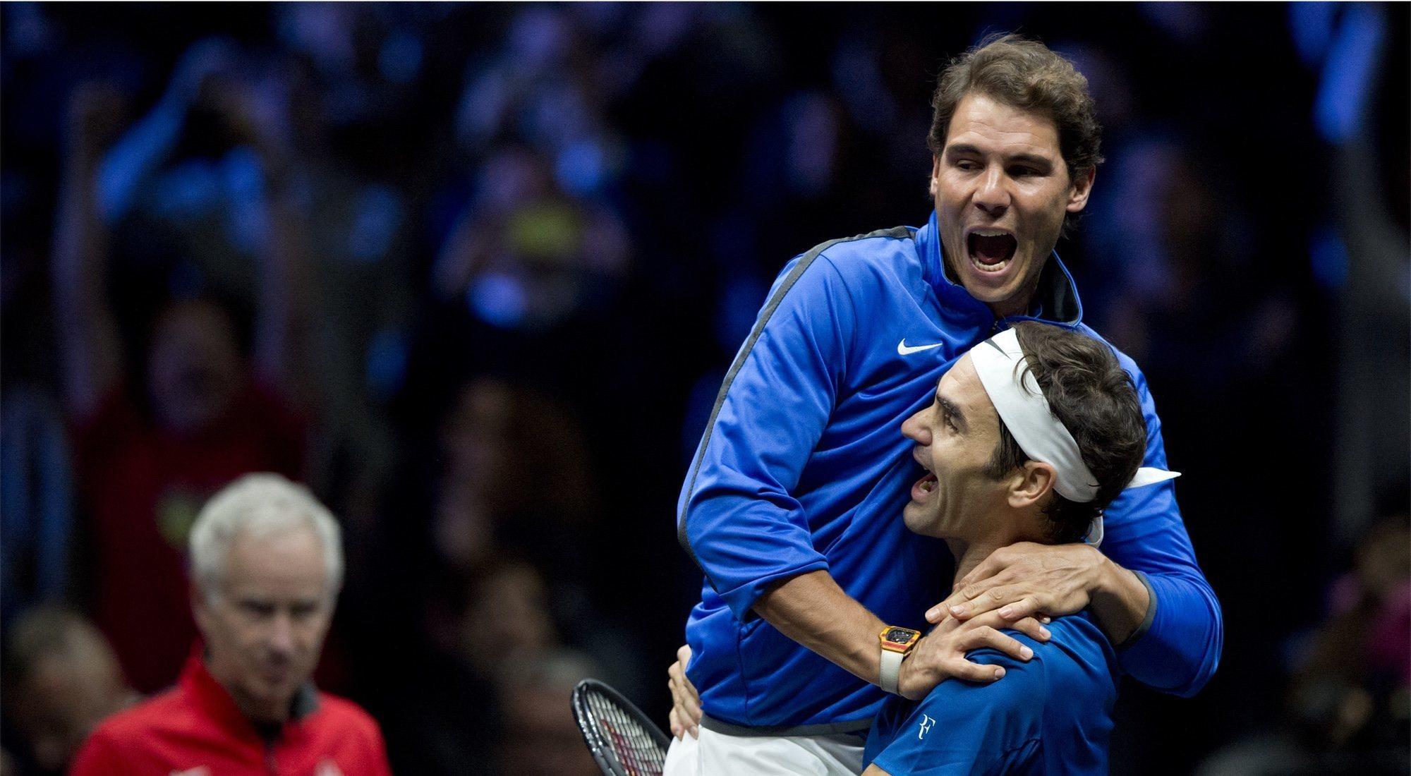 Los 5 mejores momentos de los Nadal - Federer