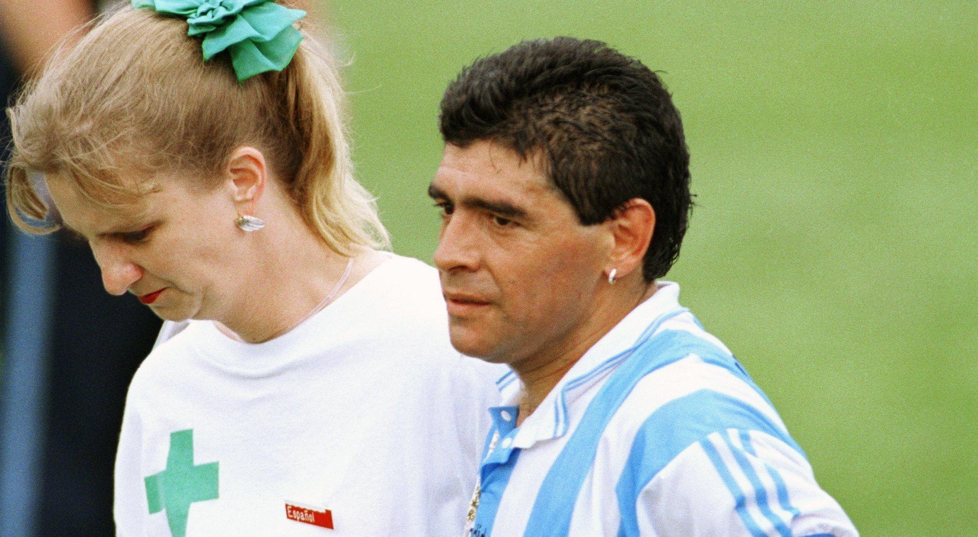 Se cumplen 25 años del positivo de Maradona en el Mundial