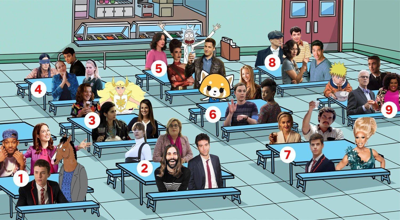 """""""Y tú, ¿en qué mesa te sentarías?"""": la nueva moda de Twitter"""