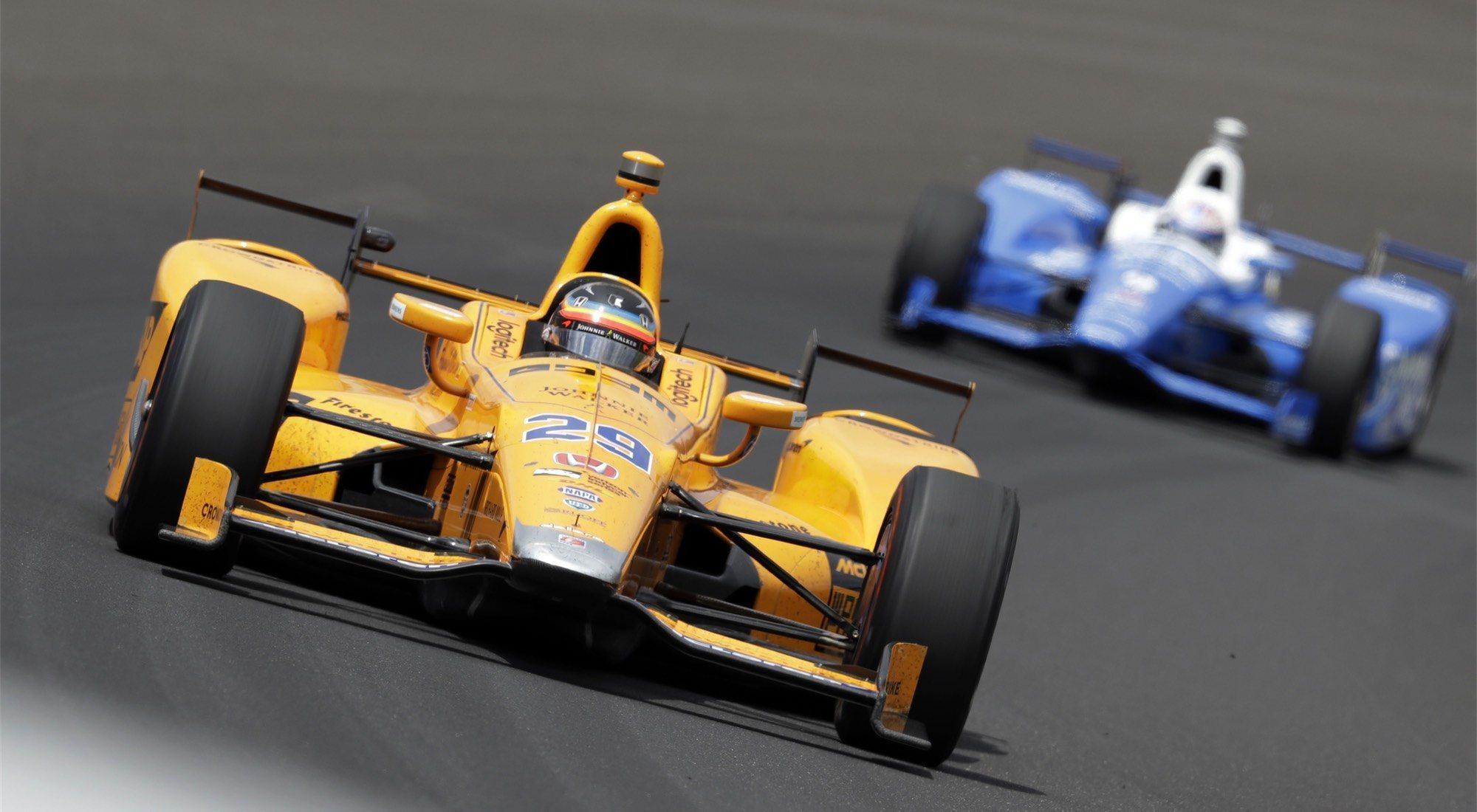 McLaren vuelve a la IndyCar... ¿con Alonso?