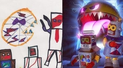 The Monster Project: niños y artistas crean los monstruos perfectos