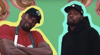 Serge Ibaka y su (adictivo) canal culinario en YouTube