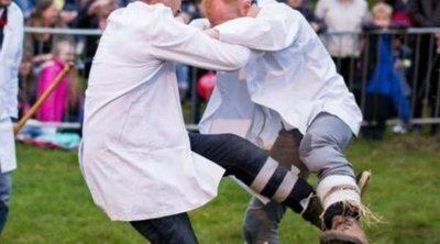 Qué es el Shin kicking, el deporte más doloroso