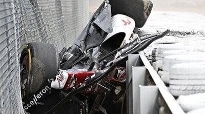 F1: Los accidentes más impactantes que no acabaron en tragedia
