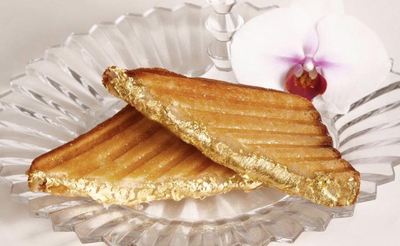 Un sándwitch de queso con oro, por la módica cantidad de unos 200 euros.