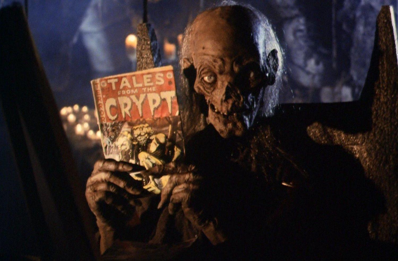 'Historias de la cripta', con el toque gamberro de HBO, llevó el color a las series de terror.