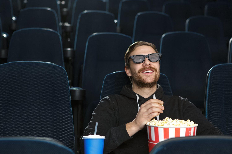 Si te apetece ir al cine, ve. Esta es la única regla que debes seguir.