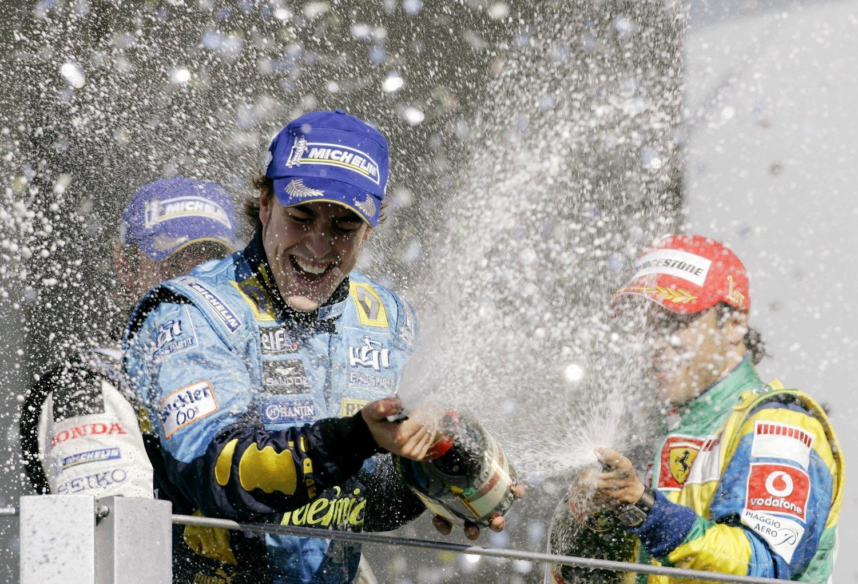 Alonso se alzó con el campeonato de F1 en 2005 y 2006.