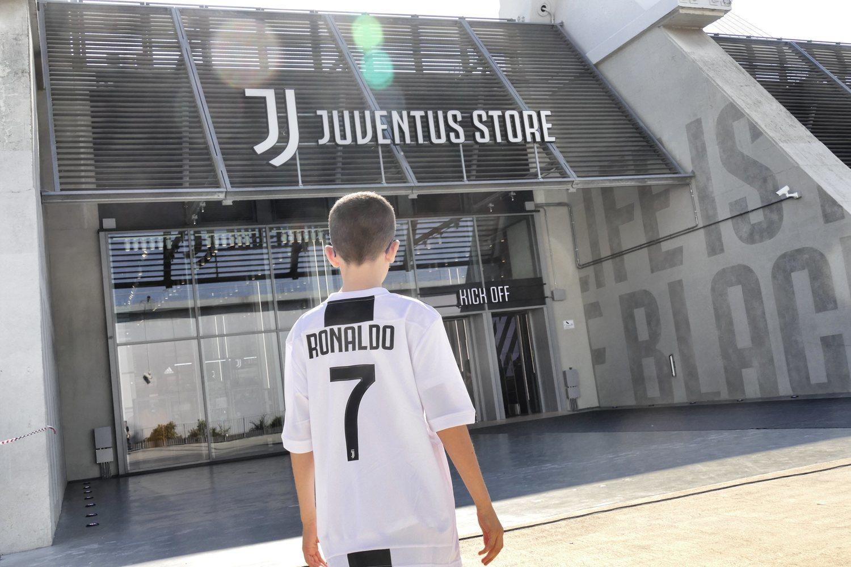 Ronaldo es el nuevo ídolo de la afición 'bianconera'.