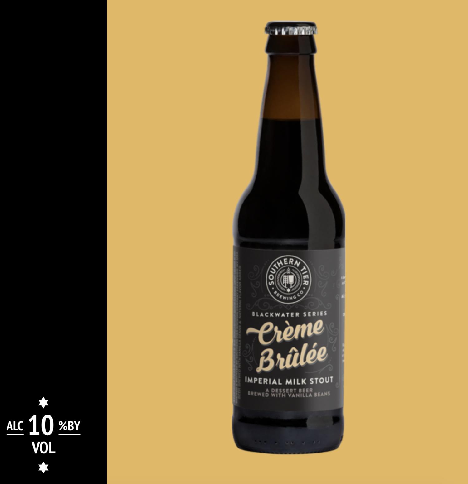 La cerveza de crème brûlée contiene todos los sabores dulces que se puedan imaginar.