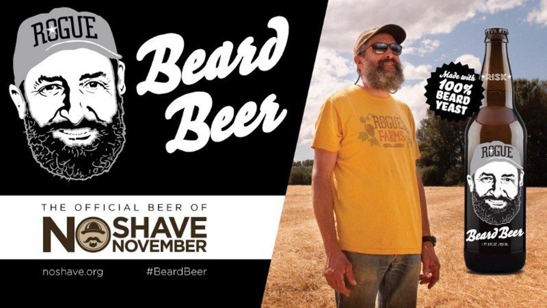 John Maier es todo un ídolo cervecero en EEUU, pero de ahí a beber cerveza bañada en su barba...