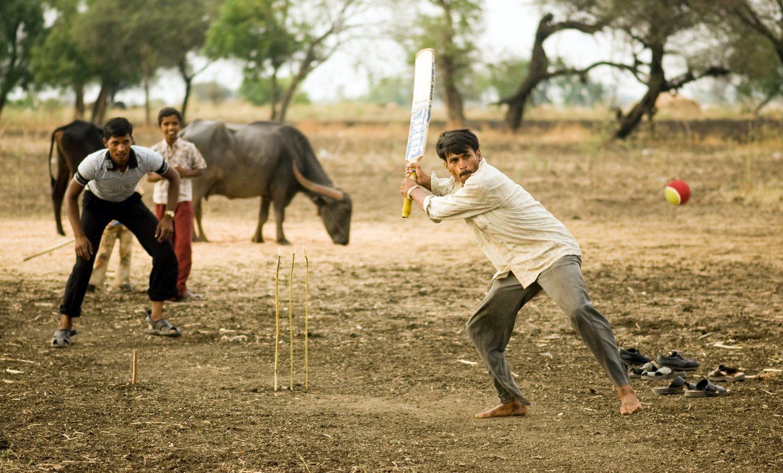 En la India existe un auténtico fervor por el críquet.