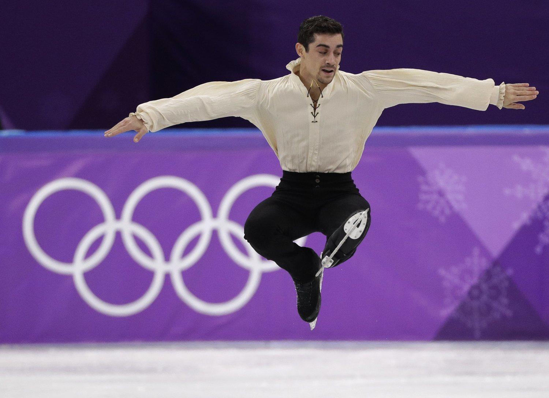 El patinador madrileño se convirtió en un hidalgo manchego para lograr el bronce en los Juegos Olímpicos de Pyeongchang de 2018.