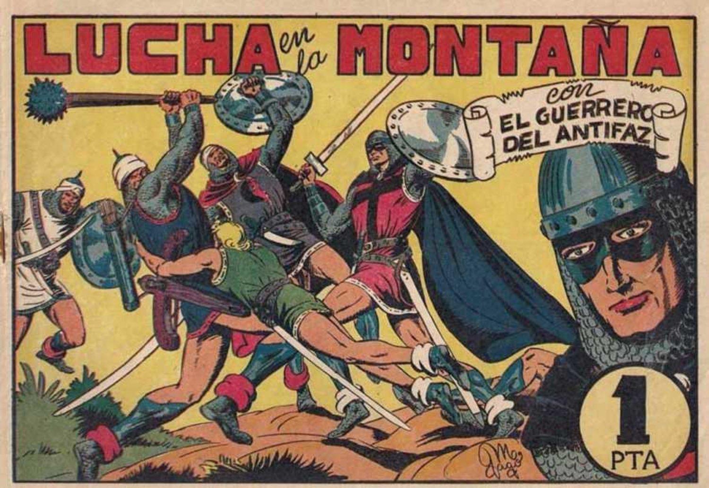 Imagen de uno de los números del primer gran éxito del cómic español.