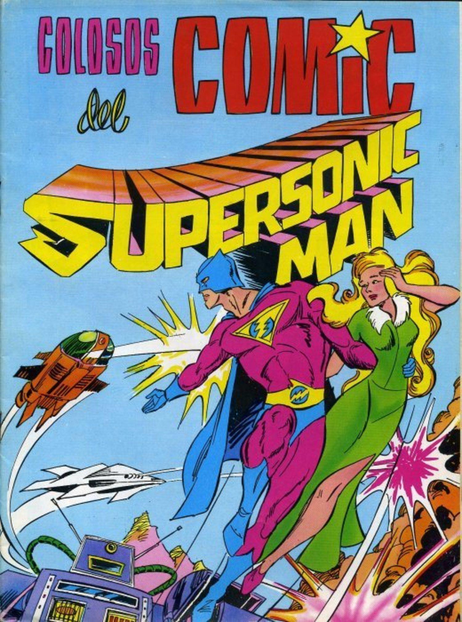Supersonic no consiguió el éxito ni en la película ni el cómic.