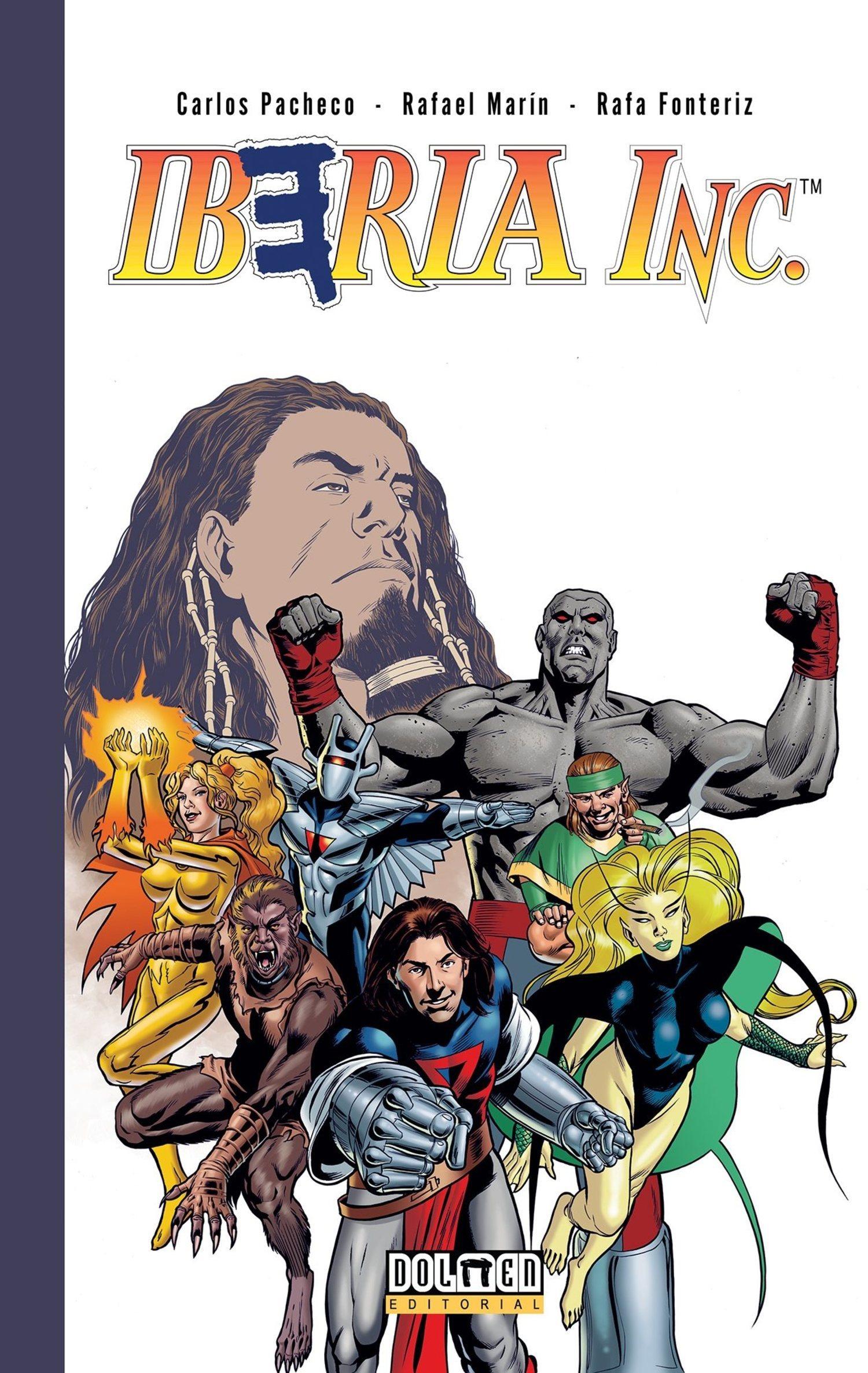 Iberia Inc quiso formar una versión española de los X-Men o de Los Vengadores.