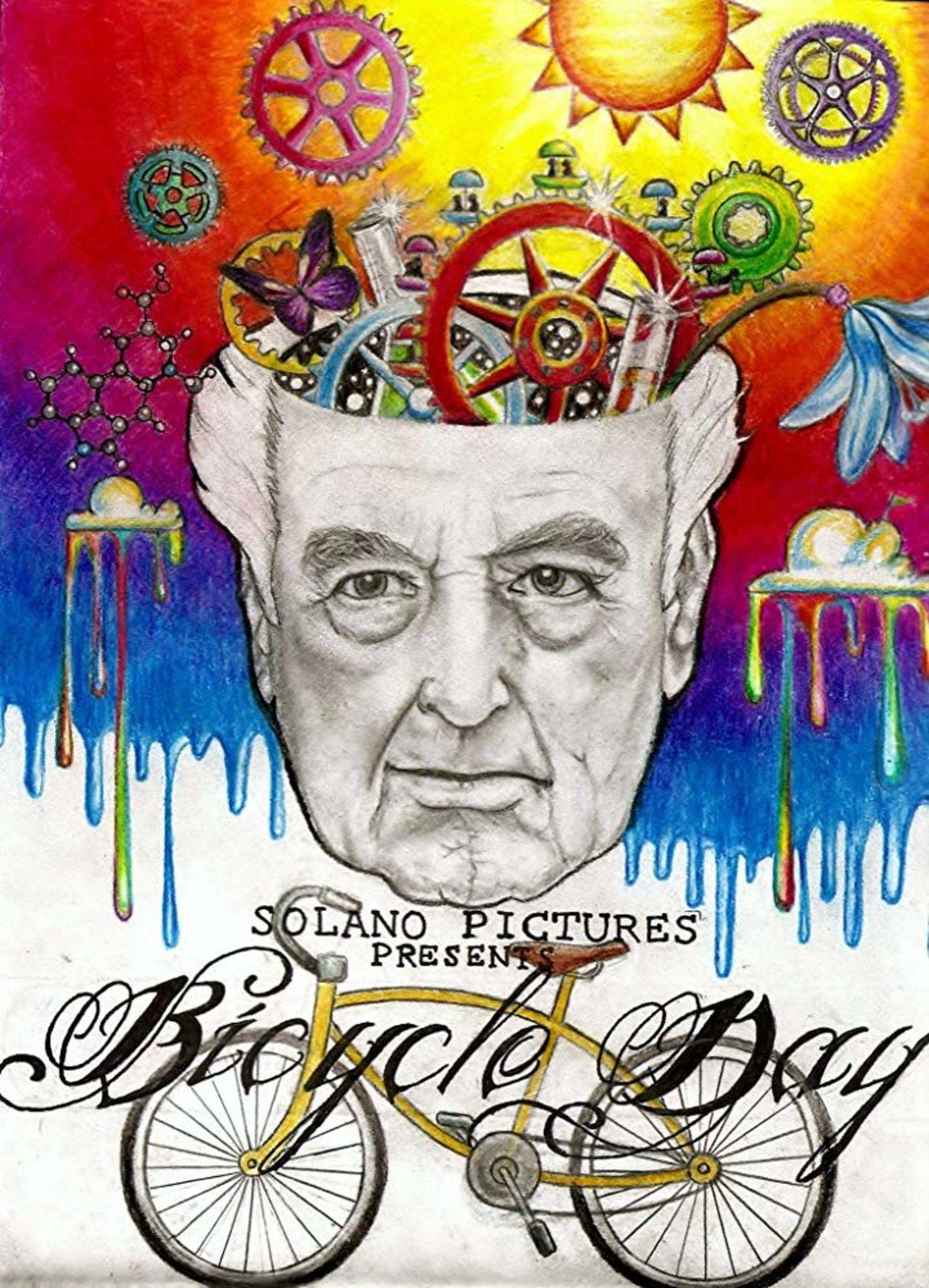En 2013 se estrenó 'Bicycle Day', una película que relata el descubrimiento de Hofmann.