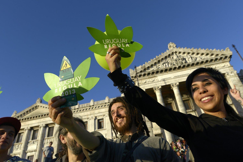 Uruguay se convirtió en el primer país en legalizar la marihuana. Lo hizo en 2013.