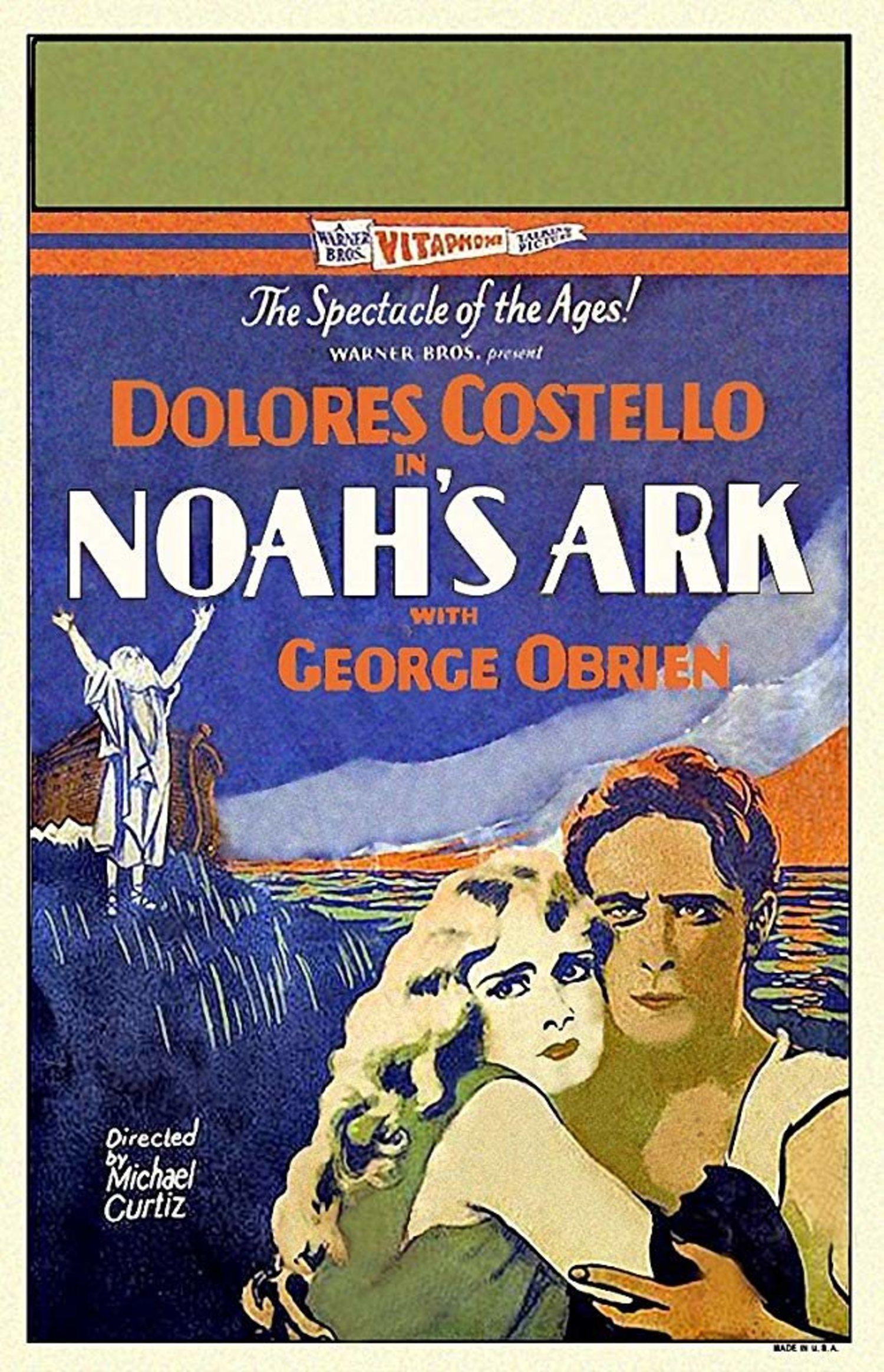 La primera película sobre el pasaje bíblico de Noe se hizo en 1928.