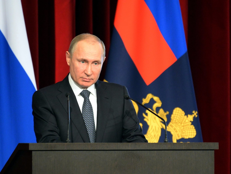 El presidente de la Federación Rusa, Vladimir Putin, ha sido muy influenciado por las ideas de Alexandr Dugin.
