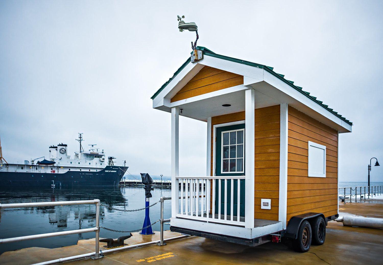 Las 'Tiny Houses' han tenido mucho éxito en Estados Unidos y en países europeos como Francia.