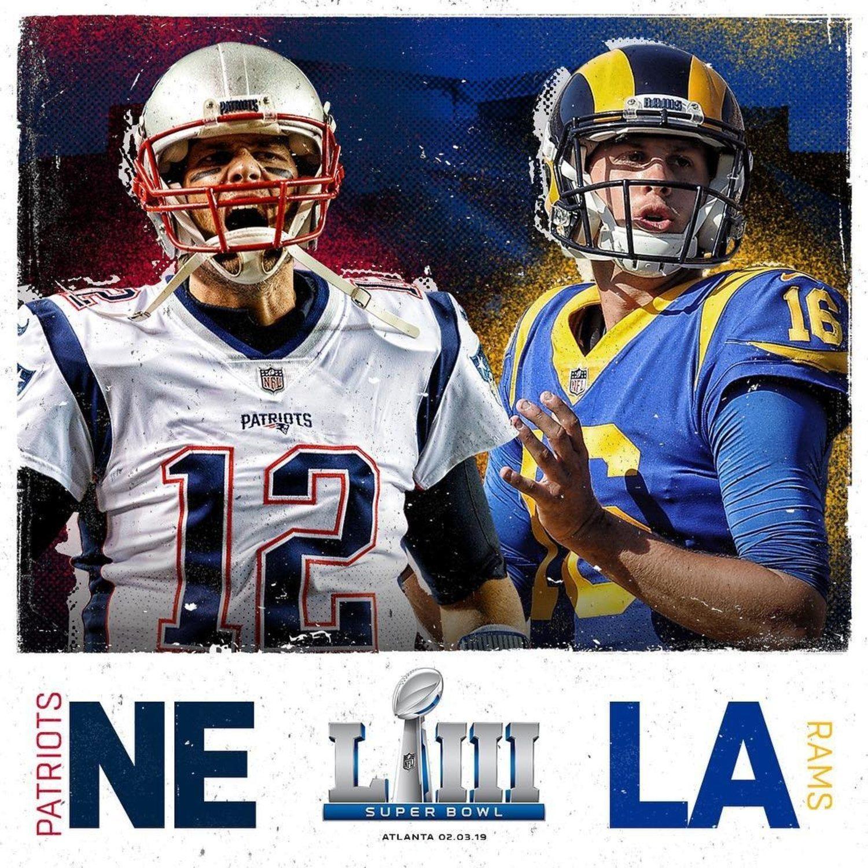 Patriots-Rams, el duelo más esperado del año.