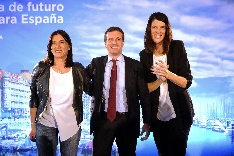 Ruth Beitia ha durado poco como candidata a la presidencia de Cantabria.