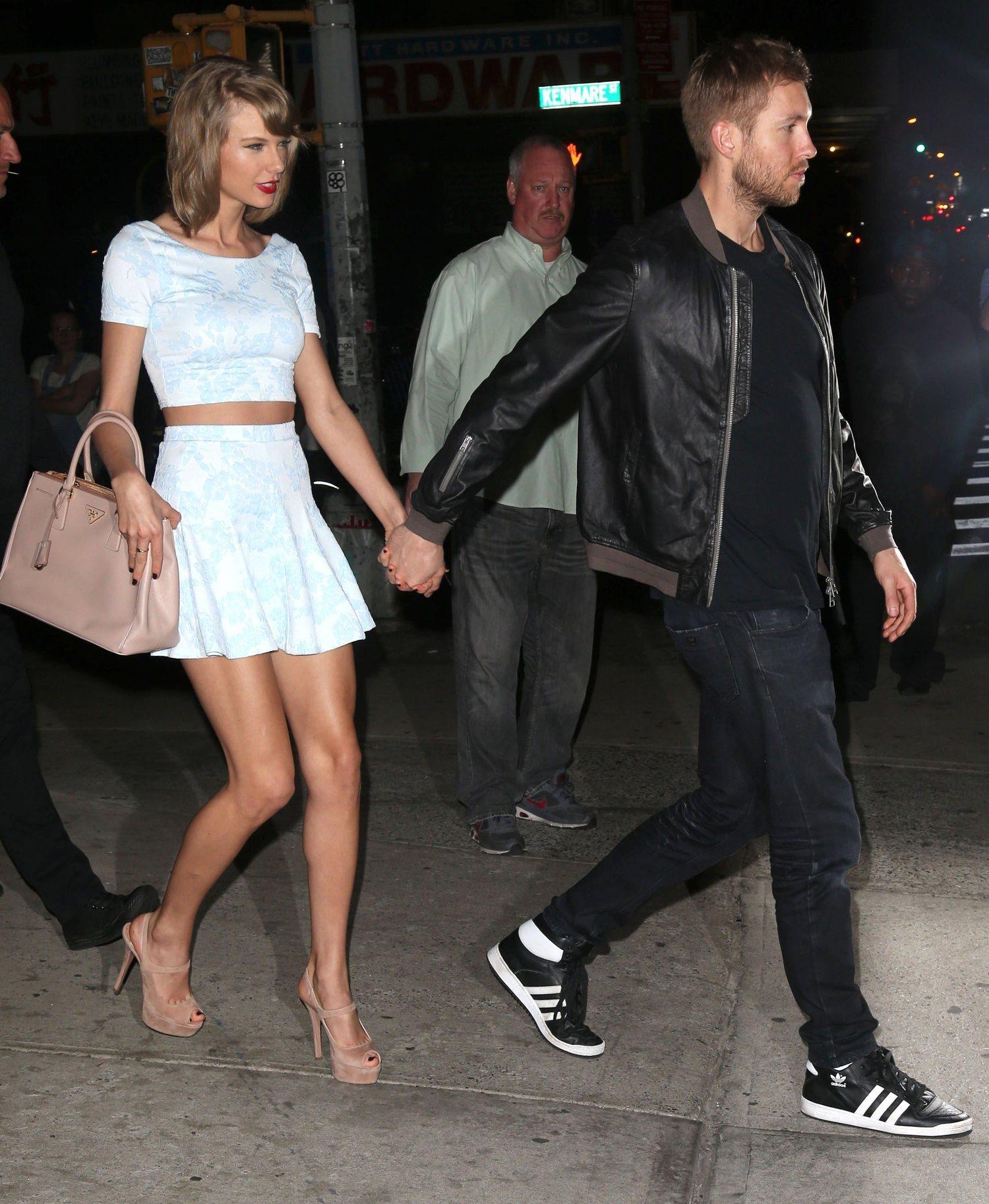 Calvin Harris y Taylor Swift, el gran romance de 2015 y 2016.