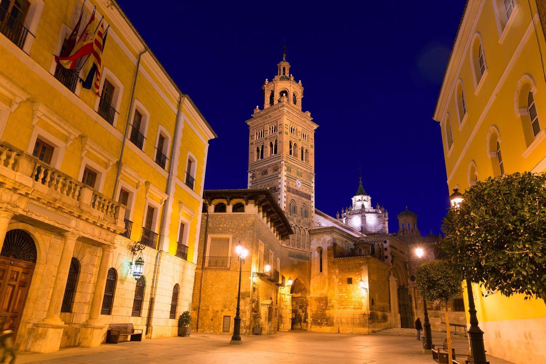 Catedral y ayuntamiento de Teruel