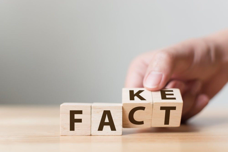 Distinguir los hechos de las falsedades, el elemento fundamental para estar bien informados.