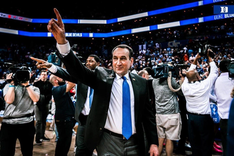 Coach K, el 'maestro' de Duke.