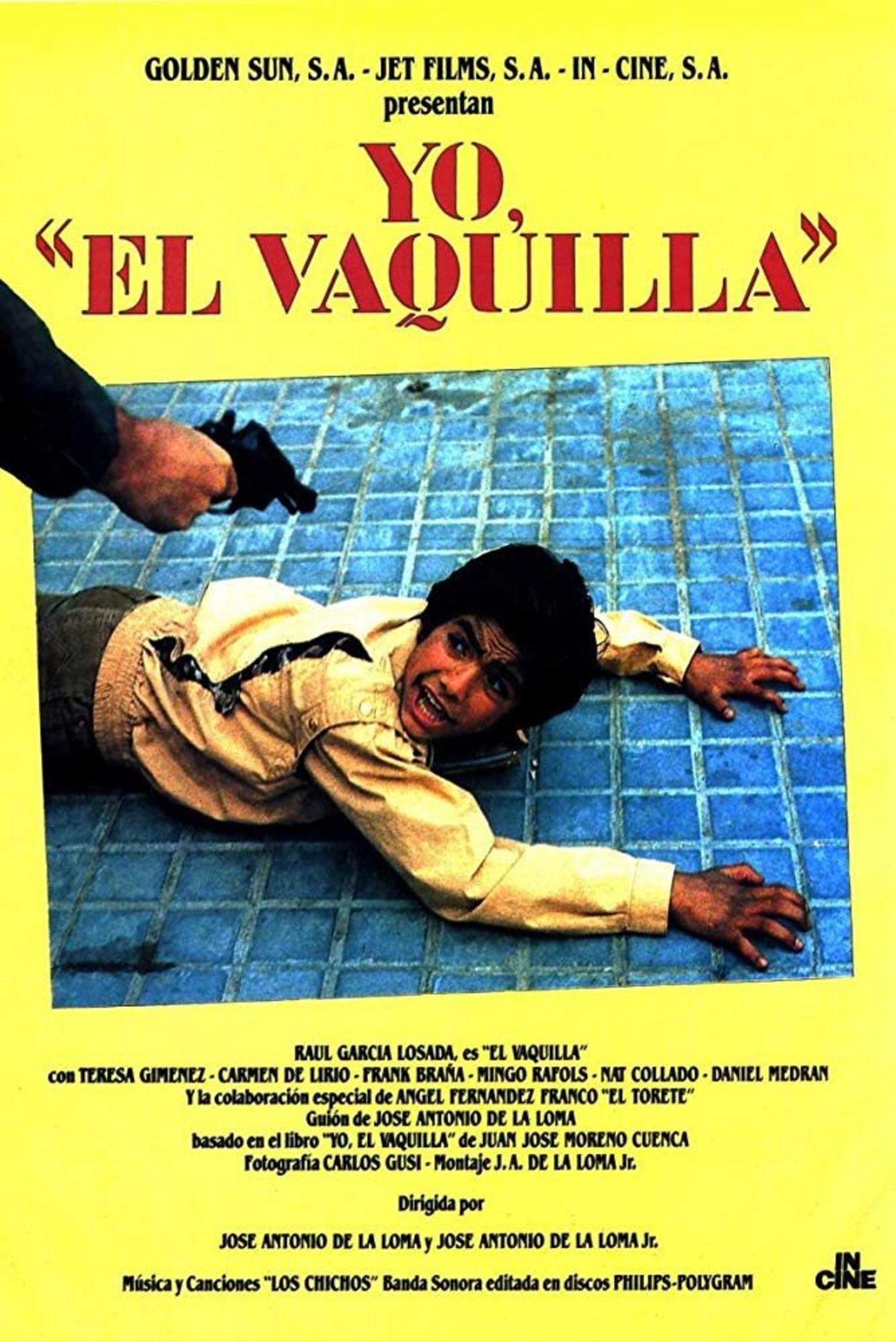 En 1985 se estrenó 'Yo, el Vaquilla', película que narra la vida criminal de Juan José Moreno Cuenca. Es una obra esencial de la filmografía quinqui.