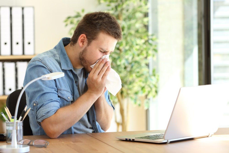 La alergia y el carrusel de estornudos no solo aparecen en los parques.