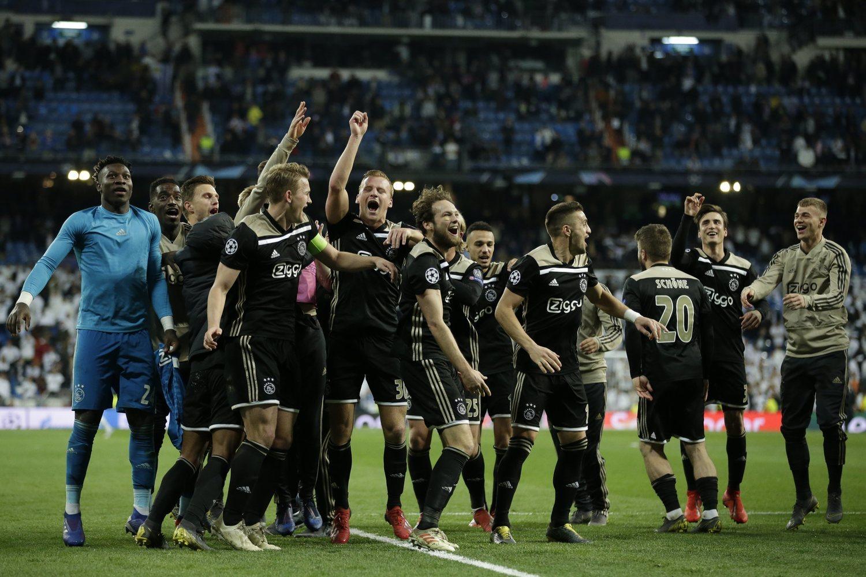 El Ajax se ha convertido en la gran sorpresa de la Champions.