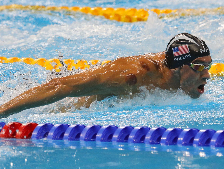 Michael Phelps es el mejor nadador de todos los tiempos: es el atleta que más medallas olímpicas ha ganado de toda la historia.