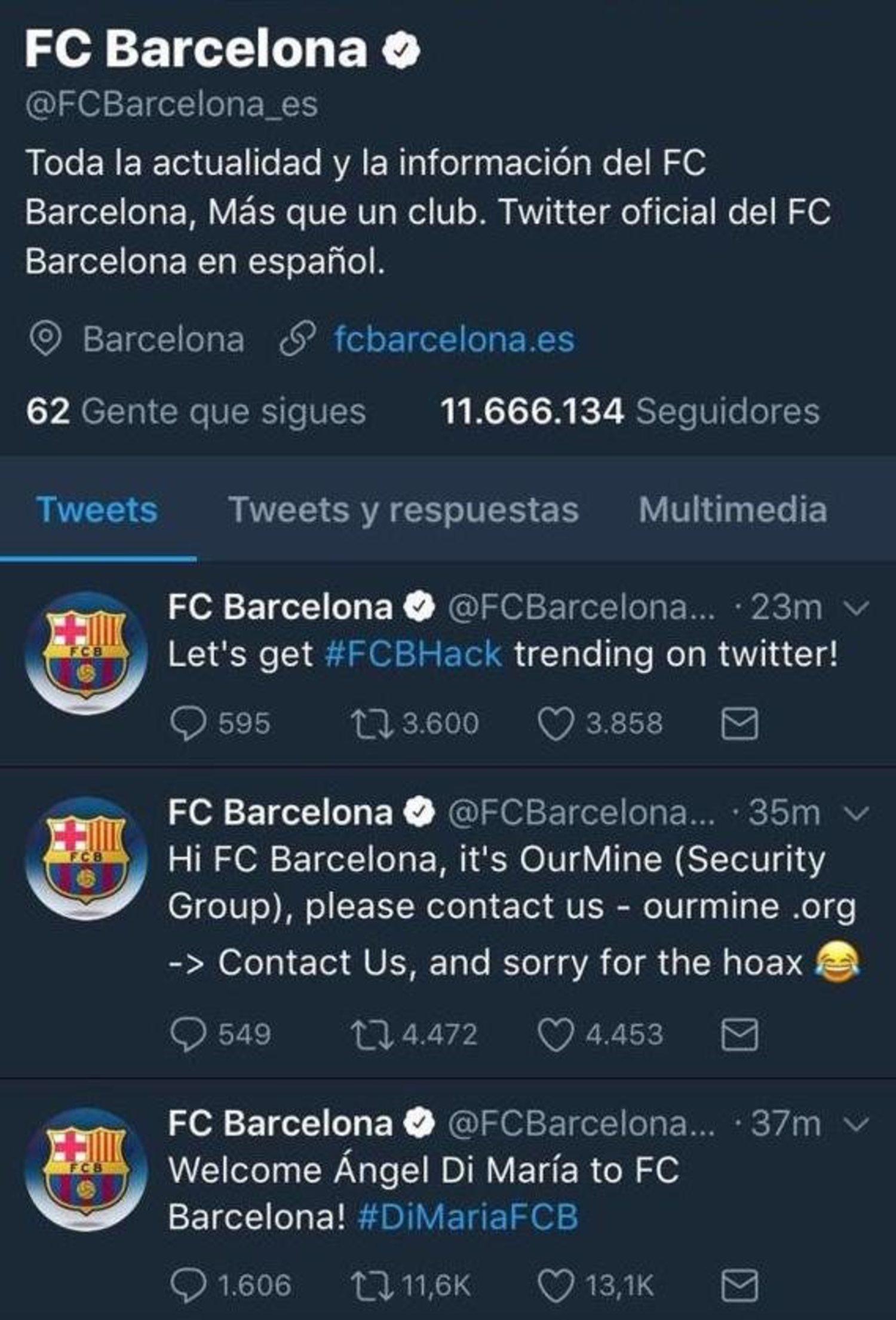 Todo el mundo se creyó el fichaje de Di María por el Barça durante dos minutos.