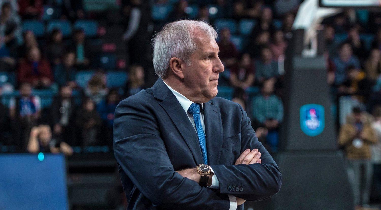 Zeljko Obradovic, el entrenador con más Euroligas de la historia.