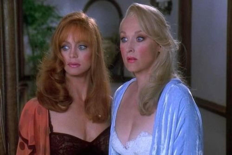 Fun fact: Meryl y Goldie interpretaron a dos viejas acabadas con 42 y 44 años.