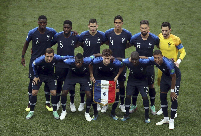 La Selección francesa arrolló físicamente a sus rivales.