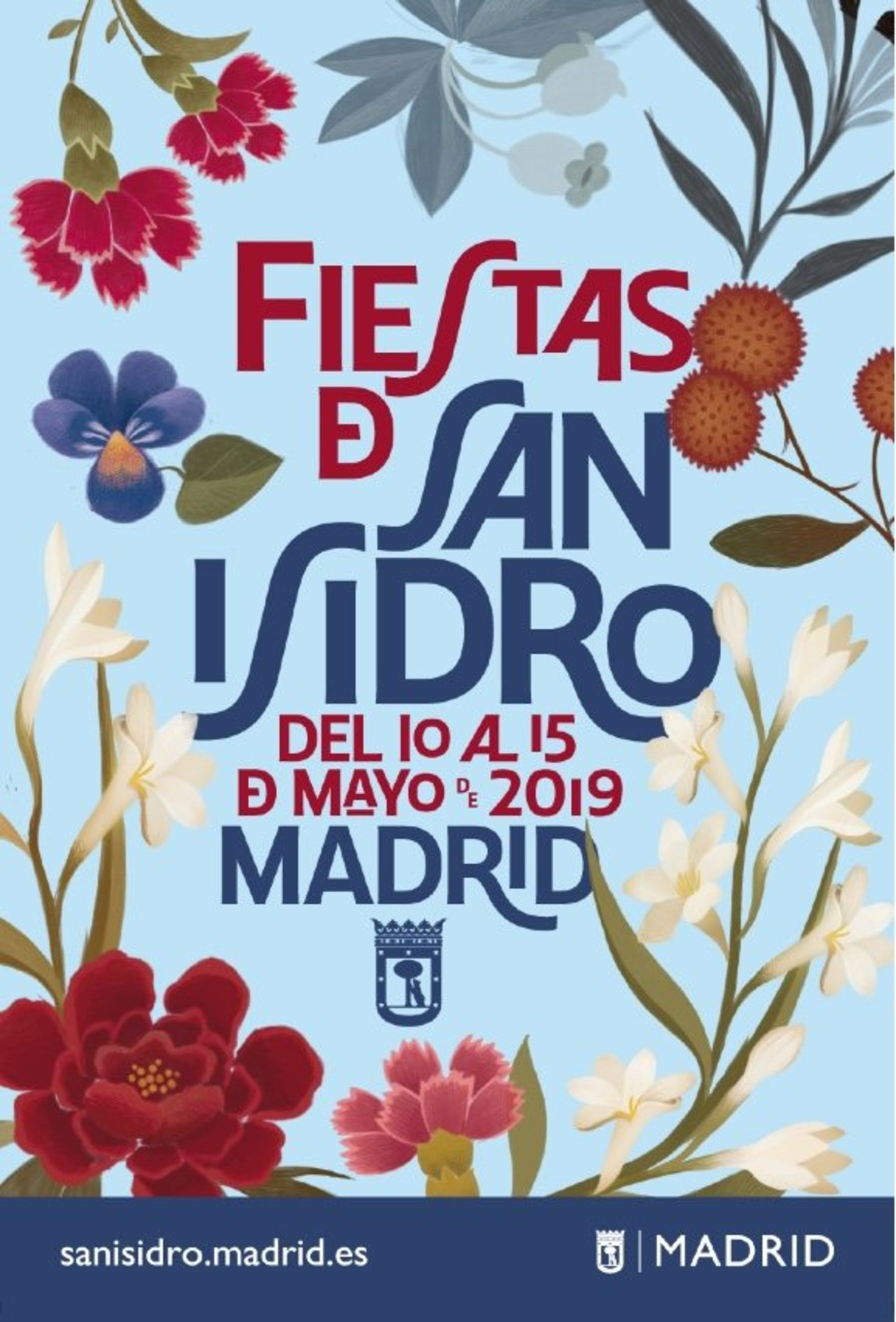 Cartel de las Fiestas de San Isidro 2019