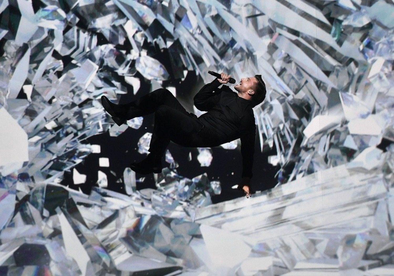 La puesta en escena de Sergey Lazarev (Rusia 2016) es la más espectacular que se recuerda