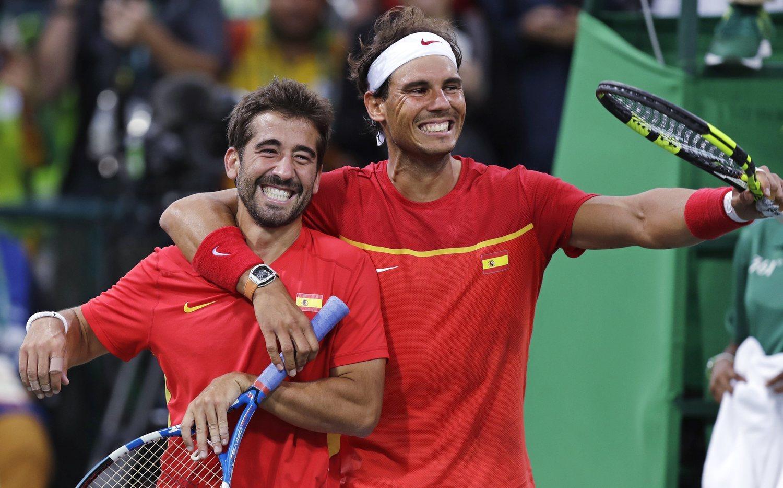 Fue uno de los protagonistas de uno de los momentos más importantes del tenis español.
