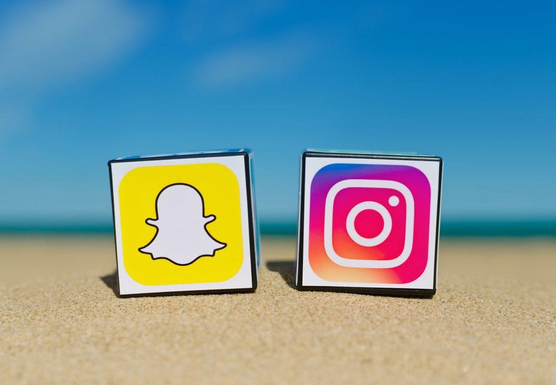 ¿Pueden convivir y respetarse Snapchat e Instagram sin pisotearse? No lo tenemos del todo claro...