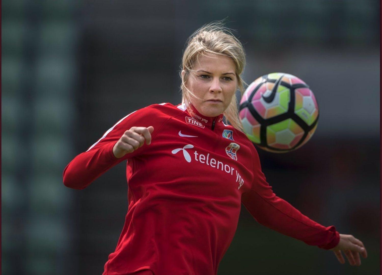 La ganadora del Balón de Oro femenino, Ada Hegerberg, no jugará el Mundial